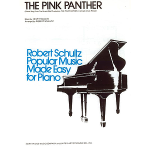 Pink Panther  Easy Piano