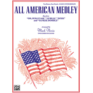 All American Medley Based On Oh Susannah Judilo Dixie And Yankee Doodle
