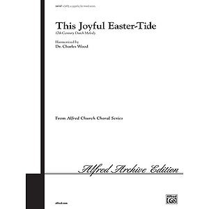 This Joyful Easter-Tide Satb