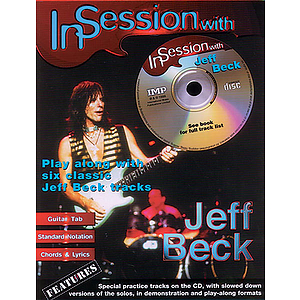 Jeff Beck - In Session With Jeff Beck Book/CD