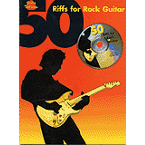 50 Riffs For Rock Guitar BK/CD