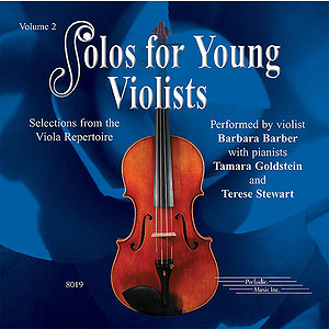 Solos For Young Violists Volume 2 CD