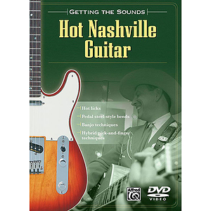 Hot Nashville Guitar Getting The Sounds (DVD)