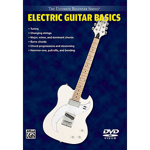 Electric Guitar Basics Ultimate Beginner Series (DVD)