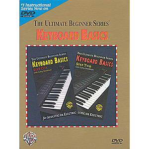 Keyboard Basics Steps One And Two Ultimate Beginner Series (DVD)