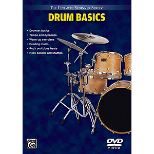 Drum Basics Steps One & Two Ultimate Beginner Series (DVD)