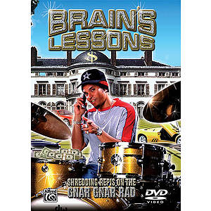 Brains Lessons Shredding Repis On The Gnar Gnar Rad (DVD)