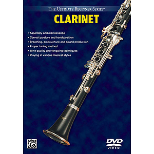 Clarinet Volumes I And II Ultimate Beginner Series (DVD)