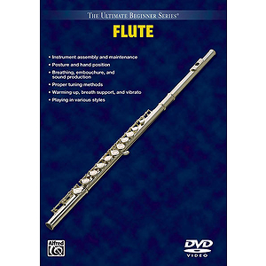 Flute Volumes I And II Ultimate Beginner Series (DVD)