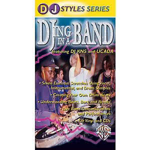 DJ With A Band Featuring DJ Kns And Ucada Video (VHS)