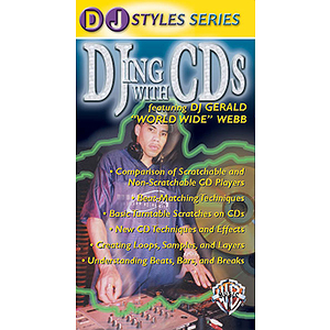 DJing With CDs Featuring DJ Gerald World Wide Webb Video (VHS)