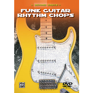 Funk Guitar Rhythm Chops Beyond Basics (DVD)