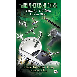 Drumset Creash Course Tuning Edition Video (VHS)