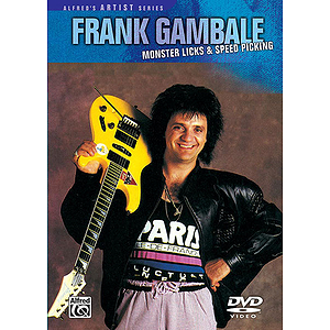 Frank Gambale - Monster Licks & Speed Picking (DVD)