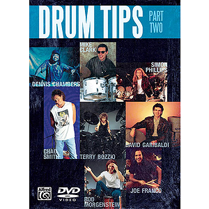 Drum Tips Part II Double Bass Drumming/Funky Drummers (DVD)