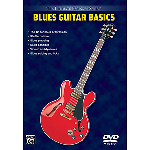 Blues Guitar Ultimate Beginner Series (DVD)