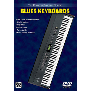 Blues Keyboard Ultimate Beginner Series (DVD)