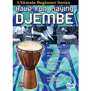 Have Fun Playing The Hand Drums Djembe-Style Drums Ultimate Beginner Series (DVD)