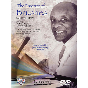 Ed Thigpen Essence Of Brushes (DVD)
