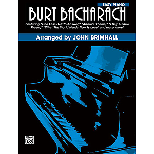 Burt Bacharach For Easy Piano