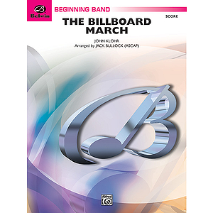 The Billboard March  Conductor's Score