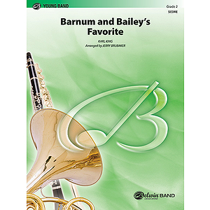 Barnum And Bailey's Favorite  Conductor's Score