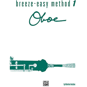 Breeze-Easy Method For Oboe Book I
