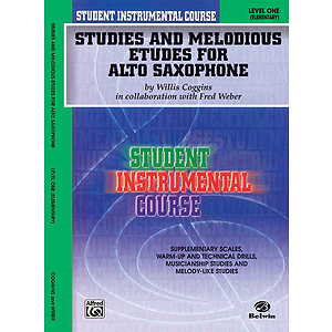 Studies And Melodious Etudes For Alto Saxophone Level I