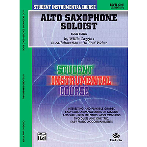 Alto Saxophone Soloist Level I Solo Book