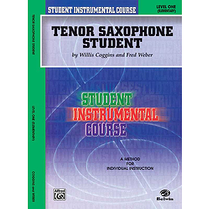 Tenor Saxophone Student Level I
