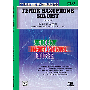 Tenor Saxophone Soloist Level I Solo Book