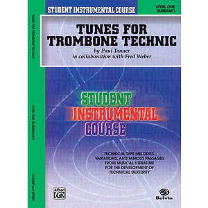 Tunes For Trombone Technic Level I