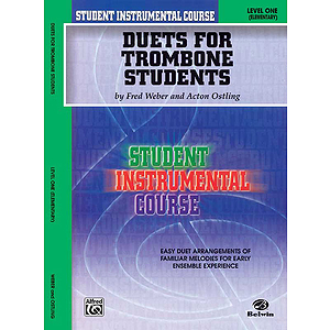 Duets For Trombone Students Level I