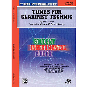 Tunes For Clarinet Technic Level II