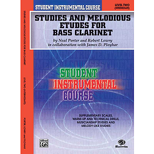 Studies And Melodious Etudes For Bass Clarinet Level II
