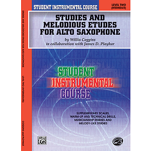 Studies And Melodious Etudes For Alto Saxophone Level II