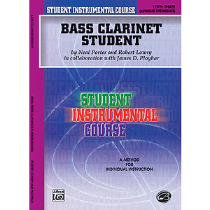 Bass Clarinet Student Level III