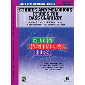 Studies And Melodious Etudes For Bass Clarinet Level 3