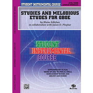 Studies And Melodious Etudes For Oboe Level III