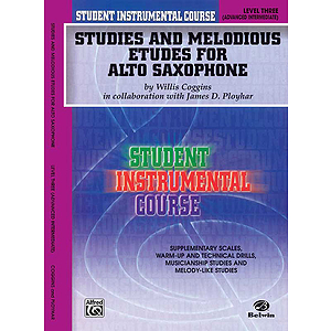 Studies And Melodious Etudes For Alto Saxophone Level III