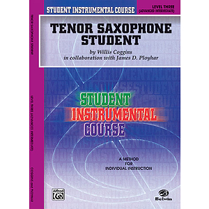 Tenor Saxophone Student Level III
