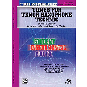 Tunes For Tenor Saxophone Technic Level III