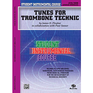 Tunes For Trombone Technic Level III
