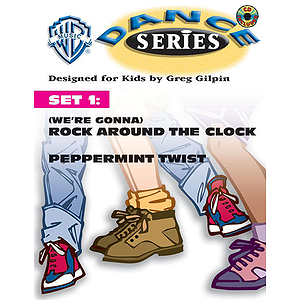 Wb Dance Series Set 1:(were Gonna) Rock Around The Clock And Peppermint Twist  Lyric Choreography Pack And CD