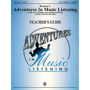 Bowmar's Adventures In Music Listening Level 1  Teacher's Guide With CD