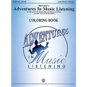 Bowmar's Adventures In Music Listening Level 1  Coloring Book