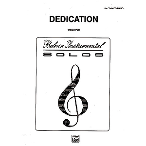 Dedication B-Flat Cornet (Trumpet) Solos (With Piano Accompaniment