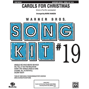 Song Kit# 19: Carols For Christmas  Unison (With Opt. Two-Part)