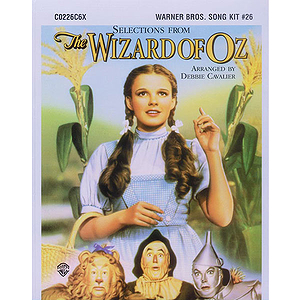 Selections From The Wizard Of Oz Song Kit # 26