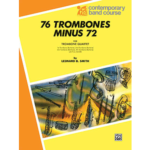76 Trombones Minus 72